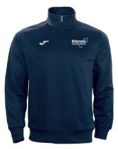 Ballymena Runners Club Joma Combi 1/4 Zip Sweatshirt Navy/White Youth 2019